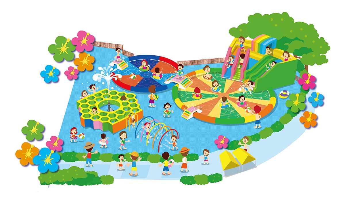 Seibuen pools water park seibu summer